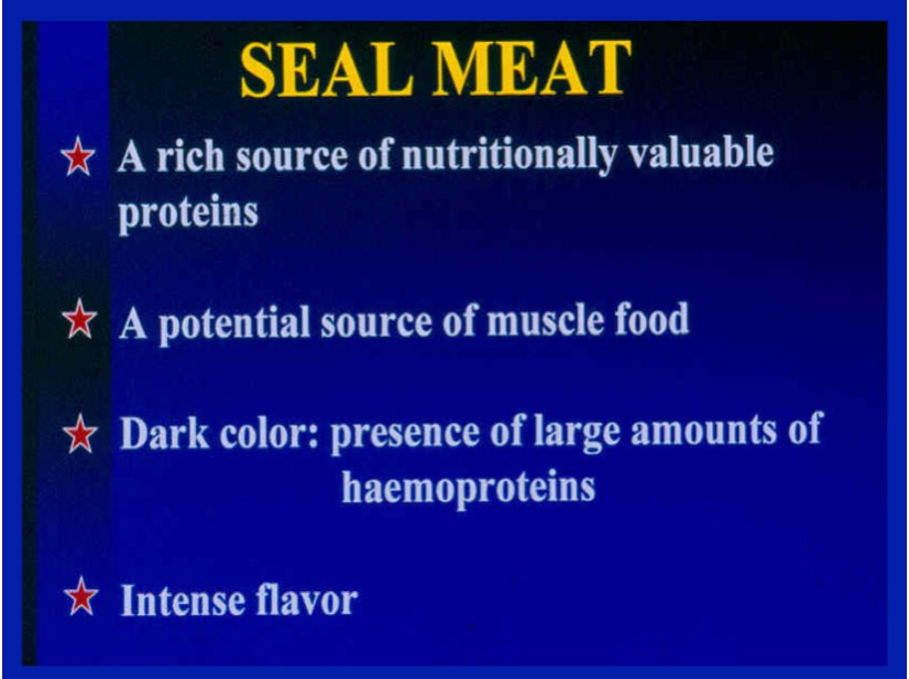 Seal Meat
